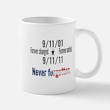 9-11 / United Never Forgotten Mug