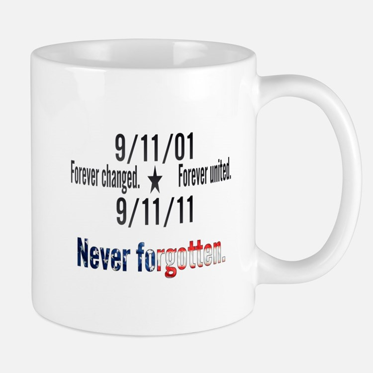 9-11 / United Never Forgotten Mug