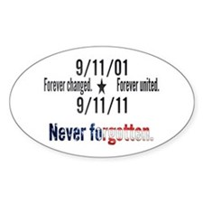 9-11 / United Never Forgotten Decal