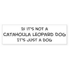 Catahoula Leopard Dog Bumper Bumper Bumper Sticker