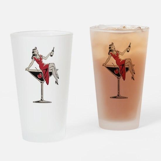 Mans Ruin Drinking Glass