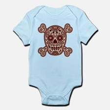 Brown Sugar Skull Infant Bodysuit
