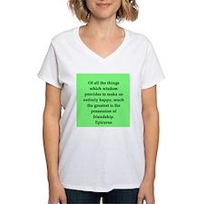 Wisdon of Epicurus Shirt