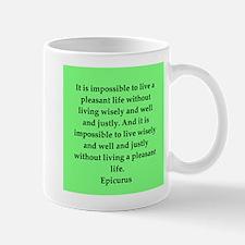 Wisdon of Epicurus Mug