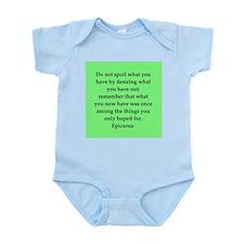 Wisdon of Epicurus Infant Bodysuit
