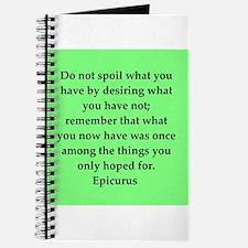 Wisdon of Epicurus Journal