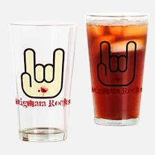 Stigmata Rocks! Drinking Glass