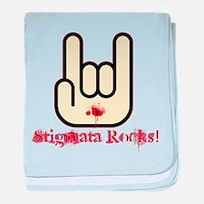 Stigmata Rocks! baby blanket