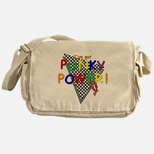 Punky Power! Retro 80's TV Messenger Bag