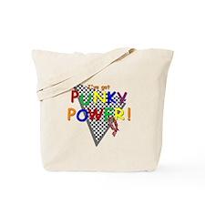 Punky Power! Retro 80's TV Tote Bag