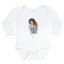 Retro Never Dies Long Sleeve Infant Bodysuit