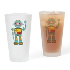 Hello Robo Drinking Glass