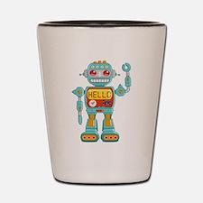 Hello Robo Shot Glass