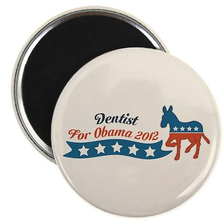 Dentist for Obama Magnet