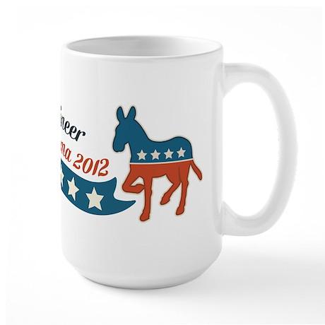 Engineer for Obama Large Mug
