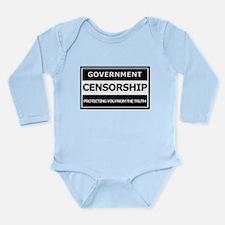 Government Censorship Long Sleeve Infant Bodysuit