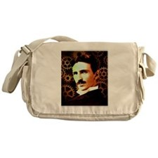 Nikola Tesla Messenger Bag