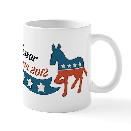 Professor for Obama Mug