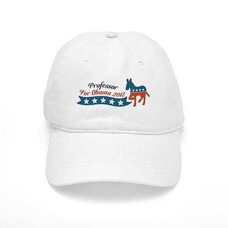 Professor for Obama Cap