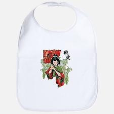 Vintage Geisha Bib