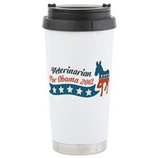Veterinarian for Obama Travel Mug