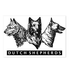 Cute Dutch Postcards (Package of 8)