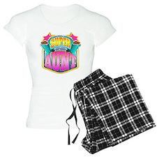 Pink Super Aunt Pajamas