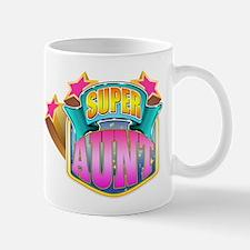 Pink Super Aunt Mug