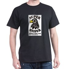Super Sniper Black T-Shirt