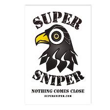 Super Sniper Postcards (Package of 8)