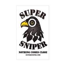 Super Sniper Rectangle Decal