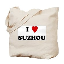 I Love Suzhou Tote Bag