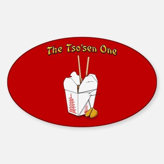 Cute Takeout Sticker (Oval)