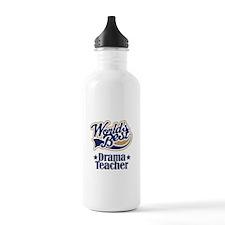 Drama Teacher Gift Sports Water Bottle