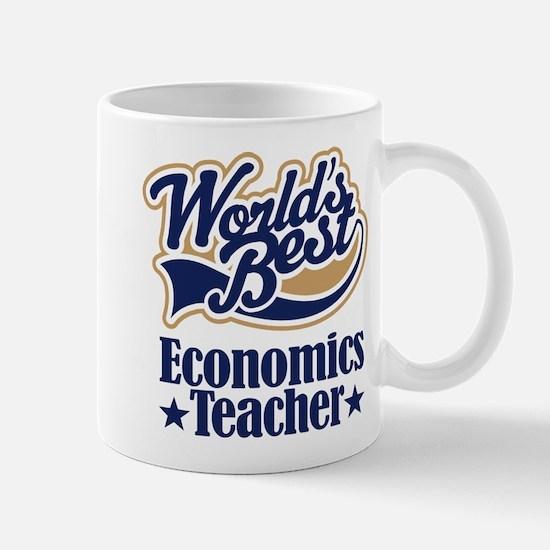 Economics Teacher Gift Mug