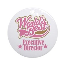 Executive Director Gift Ornament (Round)