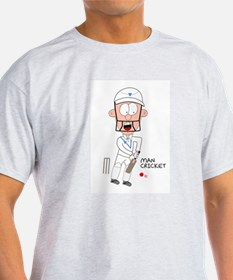 Man Cricket T-Shirt