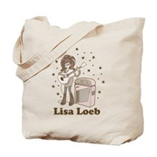 Lisa Loeb Cartoon Tote Bag