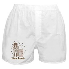 Lisa Loeb Cartoon Boxer Shorts