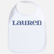 Lauren Blue Glass Bib