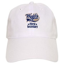 First Secretary Gift Baseball Cap