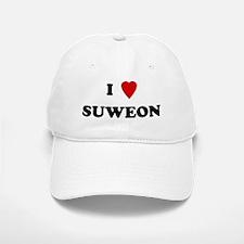 I Love Suweon Baseball Baseball Cap