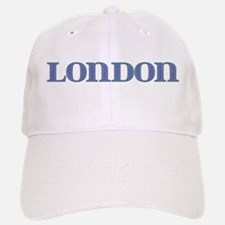 London Blue Glass Baseball Baseball Cap