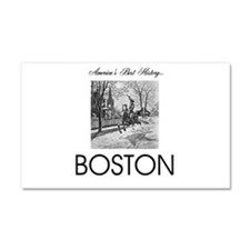 ABH Boston Car Magnet 20 x 12
