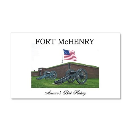 ABH Fort McHenry Car Magnet 20 x 12