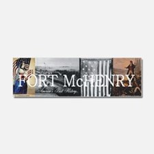 ABH Fort McHenry Car Magnet 10 x 3