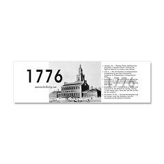 ABH Timeline 1776 Car Magnet 10 x 3