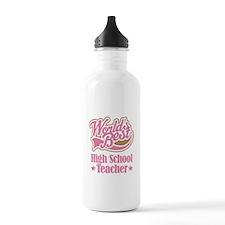 High School Teacher Gift Sports Water Bottle