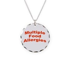 Multiple Food Allergies Necklace