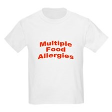Multiple Food Allergies T-Shirt